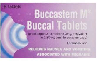 Buccastem can be used to control symptoms of nausea caused by migraines