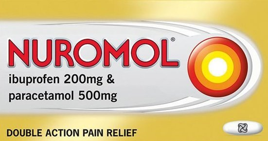 Nuromol: paracetamol and ibuprofen together in one product