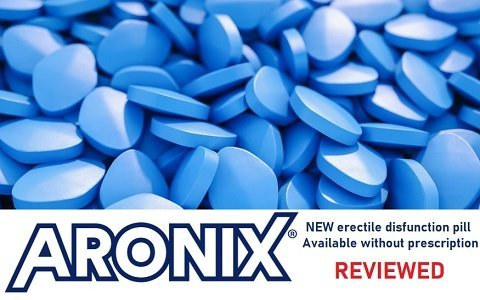 Aronix (sildenafil) - new erectile dysfunction pill reviewed