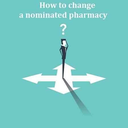 How to change a nominated pharmacy?