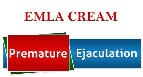 EMLA cream for premature ejaculation