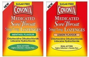 Covonia Medicated lozenges with local anaesthetic