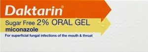 Daktarin Oral Gel - treatment of oral thrush in babies (over the counter)