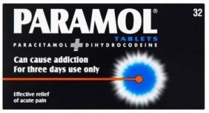 Paramol - paracetamol and dihydrocodeine for a toothache