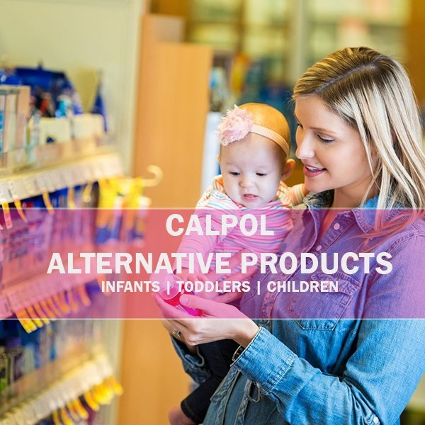 Calpol alternative drugs for toddlers an children