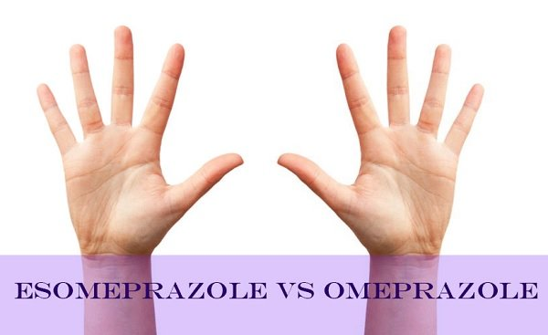 Esomeprazole vs Omeprazole - what is the difference? Visual representation of isomers.