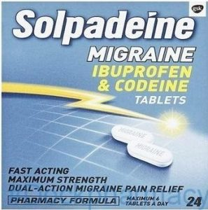 Solpadeine for migraines