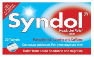 Syndol Headache relief tablets with codeine