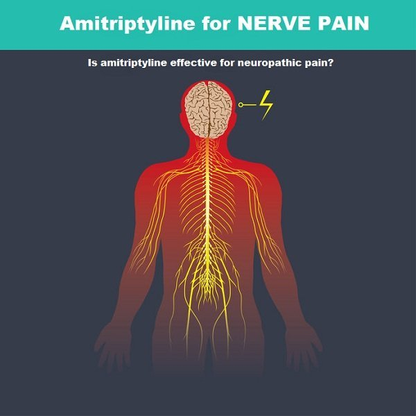 Amitriptyline for nerve pain: review of effectiveness, side effects and alternative options
