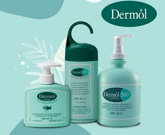 Dermol range - over the counter antibiotic cream and lotion