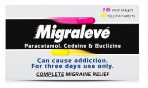Migraleve - pain and nausea relief caused by migraines