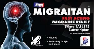 Sumatriptan - the best over the counter migraine medication